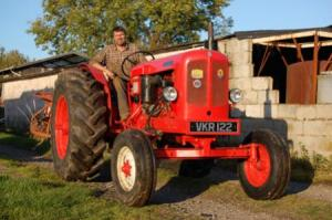 Nuffield tractor still in daily use