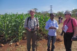 International journalists on IFAJ media tour to Zambia May 2015