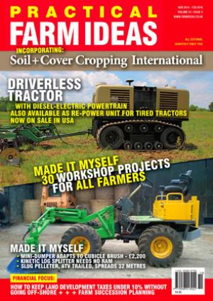 Practical Farm Ideas Vol 24-3 Driverless tractor; cow cubicle brush