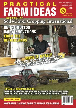 Practical Farm Ideas magazine Vol 25-2  farming on Salisbury Plain