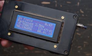 GPS field locator designed and made by a farmer