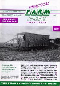Image for 4 - Vol 1 - Issue 4 - Winter  1992 - Digital Copy