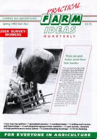 Image for 1- Vol 1 - Issue 1 - Spring 1992