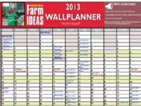 Image for Wallplanner for 2013